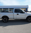 ford f 150 2008 silver pickup truck xl gasoline 6 cylinders 2 wheel drive 5 speed manual 78009