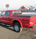 dodge dakota 2004 red sport gasoline 8 cylinders 4 wheel drive automatic 55811