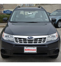 subaru forester 2012 dk  gray wagon 2 5x gasoline 4 cylinders all whee drive automatic 77099