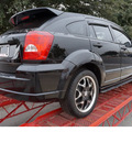 dodge caliber 2007 black hatchback sxt gasoline 4 cylinders front wheel drive automatic 78224