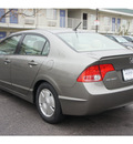 honda civic 2007 dk  gray sedan hybrid hybrid 4 cylinders front wheel drive automatic 78753