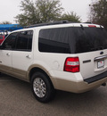 ford expedition 2008 white suv king ranch gasoline 8 cylinders 2 wheel drive automatic 76049