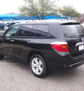 toyota highlander 2010 black suv limited gasoline 6 cylinders front wheel drive automatic 76049