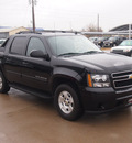 chevrolet avalanche 2011 black suv ls flex fuel 8 cylinders 2 wheel drive automatic 76049