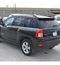 jeep compass 2012 black suv gasoline 4 cylinders 2 wheel drive automatic 78411