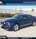 ford mustang 2008 lt  blue coupe gt premium 8 cylinders 5 speed manual 76108