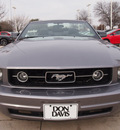 ford mustang 2007 gray v6 premium gasoline 6 cylinders rear wheel drive 5 speed manual 76011