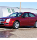 ford fusion 2007 red sedan i 4 s gasoline 4 cylinders front wheel drive automatic 79029