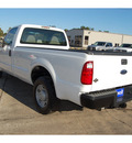ford f 250 super duty 2008 white pickup truck xl 8 cylinders automatic with overdrive 77630