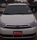 ford focus 2010 white sedan se gasoline 4 cylinders front wheel drive automatic 77388