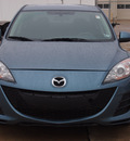 mazda mazda3 2011 blue sedan i sport gasoline 4 cylinders front wheel drive automatic with overdrive 77375