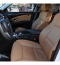 bmw 5 series 2008 white sedan 550i gasoline 8 cylinders rear wheel drive automatic 77002