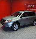 toyota rav4 2007 lt  green suv gasoline 4 cylinders front wheel drive automatic 76116