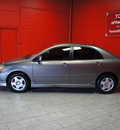 toyota corolla 2004 gray sedan s gasoline 4 cylinders front wheel drive automatic with overdrive 76116