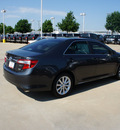 toyota camry hybrid 2012 gray sedan xle hybrid 4 cylinders front wheel drive automatic 76116