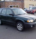 subaru forester 2004 dk  green wagon x gasoline 4 cylinders all whee drive automatic 06019
