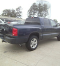 dodge dakota 2007 blue pickup truck slt gasoline 6 cylinders rear wheel drive automatic 75503