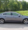 acura tl 2009 gray sedan sh awd gasoline 6 cylinders all whee drive automatic 44024