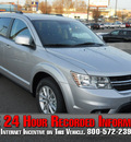 dodge journey 2013 silver suv crew flex fuel 6 cylinders all whee drive shiftable automatic 99212