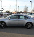 chrysler 200 2013 silver sedan limited flex fuel 6 cylinders front wheel drive shiftable automatic 99212