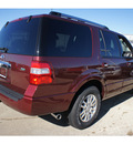 ford expedition 2012 red suv limited flex fuel 8 cylinders 2 wheel drive automatic 77505