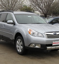 subaru outback 2012 silver wagon 2 5i limited gasoline 4 cylinders all whee drive automatic with overdrive 77099