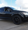 dodge journey 2010 black suv sxt gasoline 6 cylinders front wheel drive automatic 77505