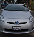 toyota prius 2010 silver ii hybrid 4 cylinders front wheel drive automatic 94063