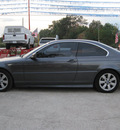 bmw 3 series 2005 dk  gray coupe 325ci gasoline 6 cylinders rear wheel drive automatic 77379