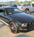 ford mustang 2008 black coupe v6 premium gasoline 6 cylinders rear wheel drive automatic 77379