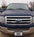 ford expedition el 2010 dk  blue suv eddie bauer flex fuel 8 cylinders 4 wheel drive automatic 76011