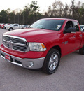 ram 1500 2013 flame red pickup truck lone star gasoline 8 cylinders 2 wheel drive automatic 77388