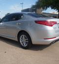 kia optima 2013 silver sedan lx gasoline 4 cylinders front wheel drive automatic 75150