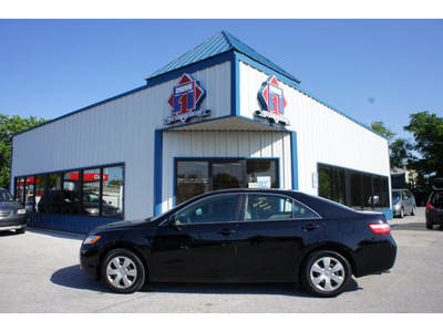 toyota camry 2009 black sedan le v6 gasoline 6 cylinders front wheel drive automatic 76541