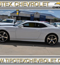 chevrolet camaro 2012 white coupe ss gasoline 8 cylinders rear wheel drive automatic 78521