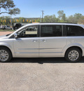 chrysler town and country 2012 silver van touring l flex fuel 6 cylinders front wheel drive automatic 78028