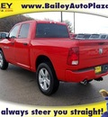 ram ram pickup 1500 2012 red express crew 4x4 gasoline 8 cylinders 4 wheel drive 6 speed automatic 76450
