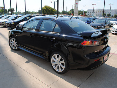 mitsubishi lancer 2012 black sedan gt gasoline 4 cylinders front wheel drive automatic with overdrive 75062