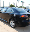 mitsubishi lancer 2012 black sedan es gasoline 4 cylinders front wheel drive automatic with overdrive 75062