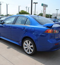 mitsubishi lancer 2012 blue sedan gt gasoline 4 cylinders front wheel drive automatic with overdrive 75062