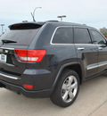 jeep grand cherokee 2012 black suv overland gasoline 8 cylinders 4 wheel drive automatic 76011