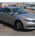 volkswagen passat 2012 silver sedan se gasoline 5 cylinders front wheel drive automatic 78411