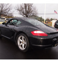 porsche cayman 2008 black coupe gasoline 6 cylinders rear wheel drive steptronic 07701