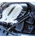 bmw 7 series 2009 black sedan 750li gasoline v8 rear wheel drive automatic 77002