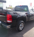 gmc sierra 1500 2011 black sl flex fuel 8 cylinders 2 wheel drive automatic 77539