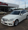 mercedes benz c class 2010 white sedan c300 4matic luxury gasoline 6 cylinders all whee drive automatic 77657