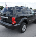 dodge durango 2007 black suv slt flex fuel 8 cylinders rear wheel drive automatic 78224