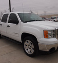 gmc sierra 1500 2008 white sle1 gasoline 8 cylinders 2 wheel drive 4 speed automatic 75007