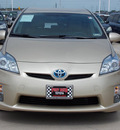 toyota prius 2011 tan iii hybrid 4 cylinders front wheel drive automatic 77469