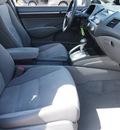 honda civic 2009 gray sedan ex gasoline 4 cylinders front wheel drive automatic 78130